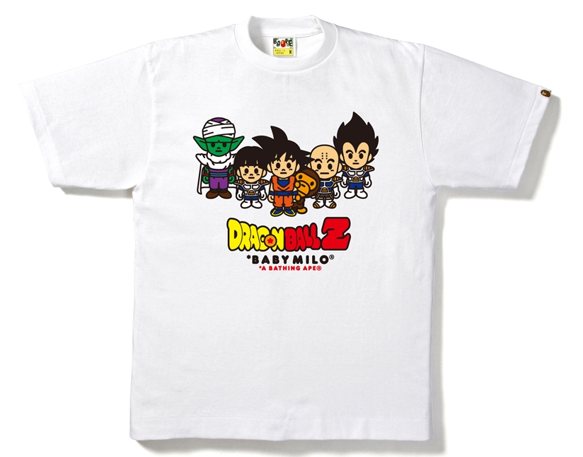 Bape DBZ Friends Tee White