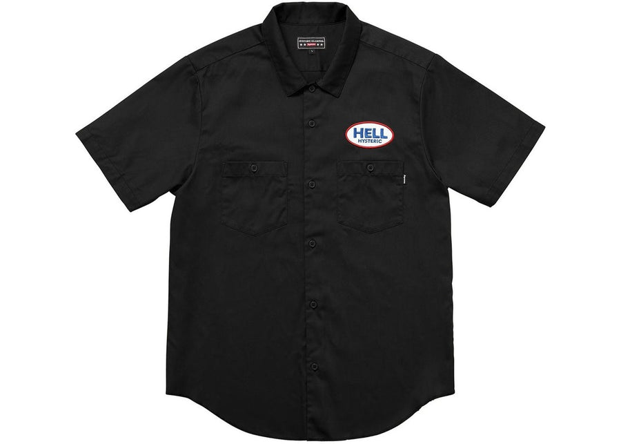 Supreme Hysteric Glamour S/S Work Shirt Black