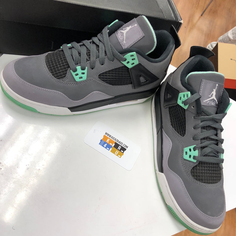VNDS Jordan 4 Retro Green Glow (GS)