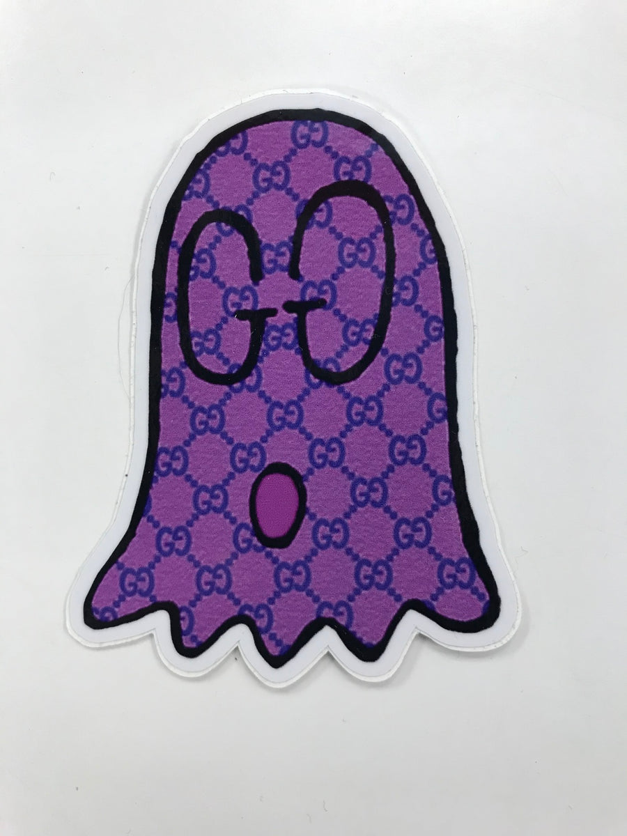 Gucci Ghost Boo Purple Sticker