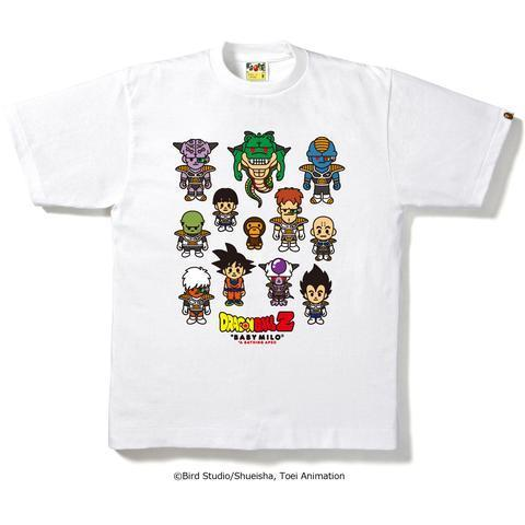 Bape DBZ Family Tee White #7