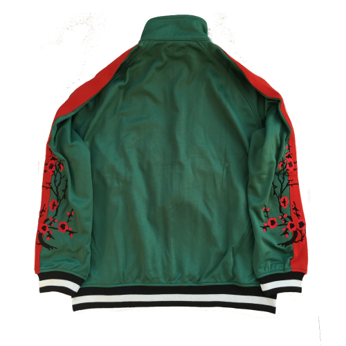 Contreband Tracksuit Jacket Green