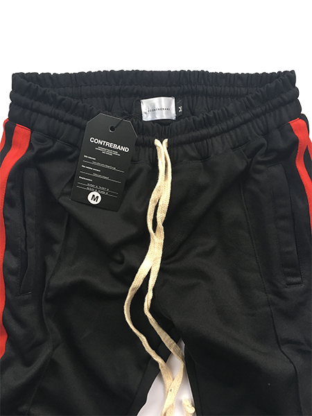 Contreband Tracksuit Trouser Black