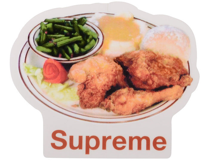 Supreme Chicken Dinner Sticker