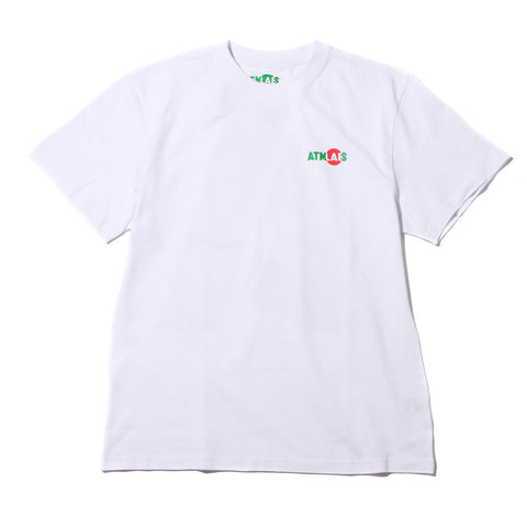 ATMOS LAB BIG A TEE (CRAZY ANIMAL) WHITE