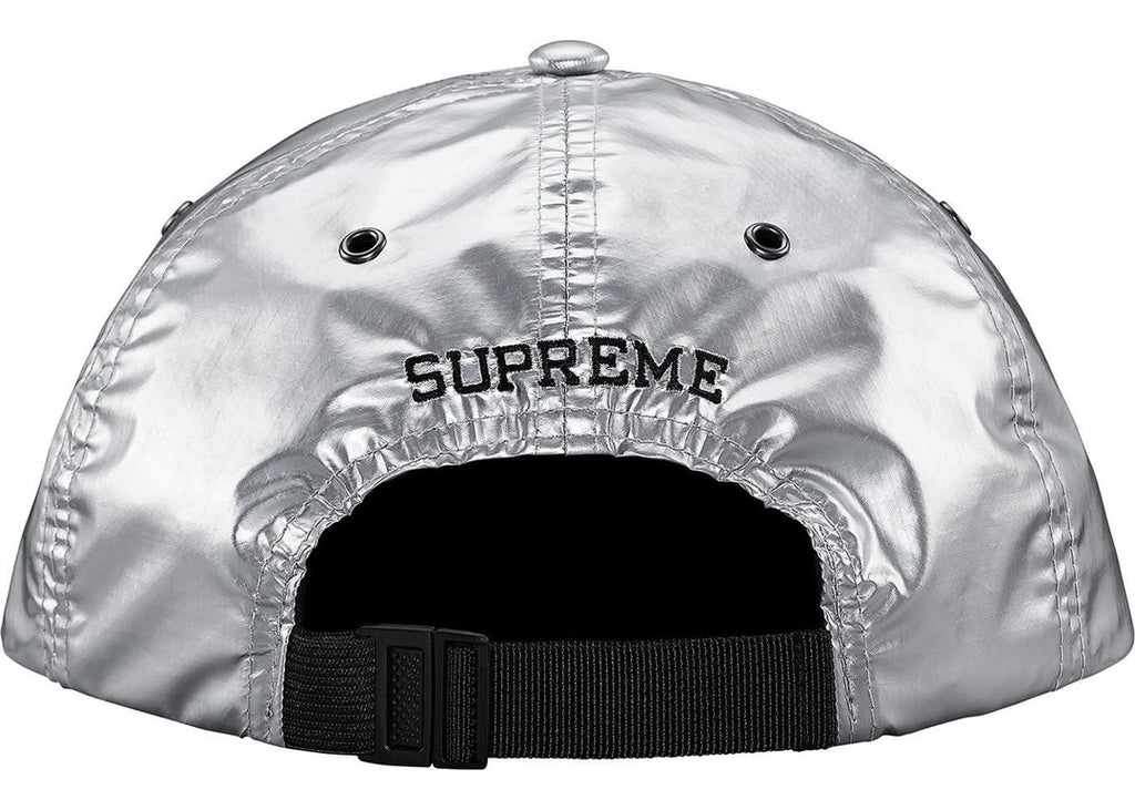 Supreme The North Face Metallic 6-Panel Silver