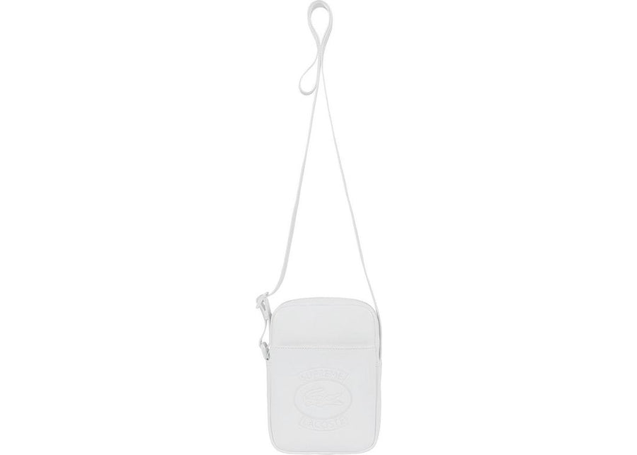Supreme LACOSTE Shoulder Bag White