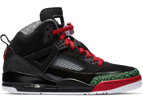 Jordan Spizike Black Varsity Red