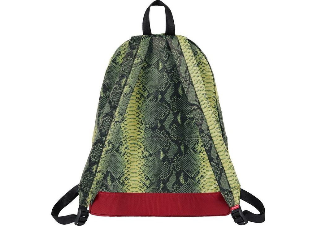 Supreme The North Face Snakeskin Lightweight Day BackPack Green