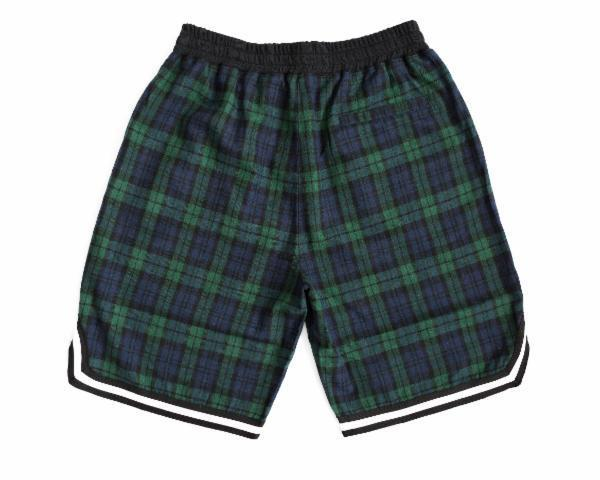 Rubbish NYC Tartan Plaid Flannel Shorts