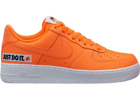 Nike Air Force 1 Low Just Do It Pack Orange (Orange Swoosh)