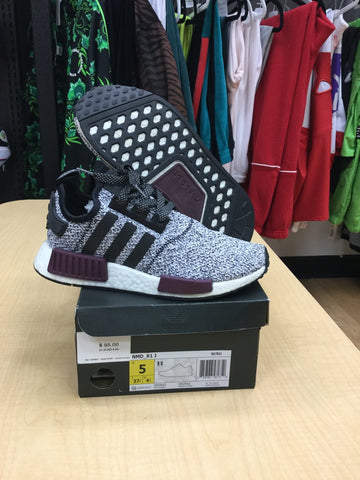 VNDS adidas NMD R1 Champs Burgundy Grey (GS)