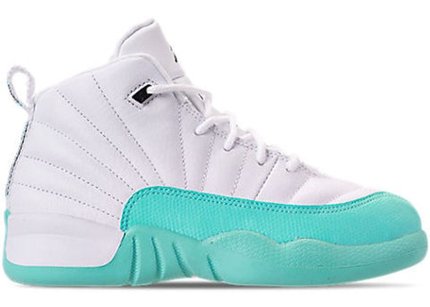 243ec346b7daad Air Jordan 12 Retro Light Aqua (PS)