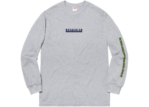 cbb22318cb37 Supreme 1994 LS Tee Heather Grey