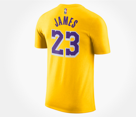 Men's Nike NBA Player Name & Number T-Shirt