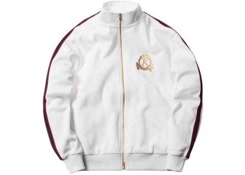 Kith x Bergdorf Goodman Track Jacket Bright White
