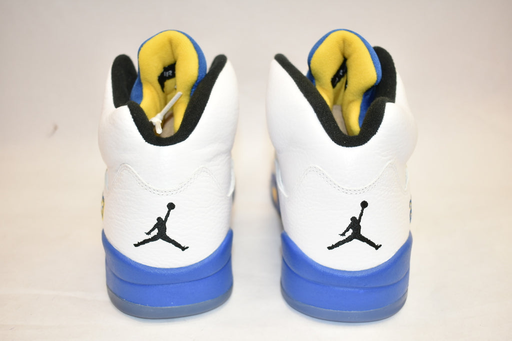 Nike Air Jordan V Laney (tried on)