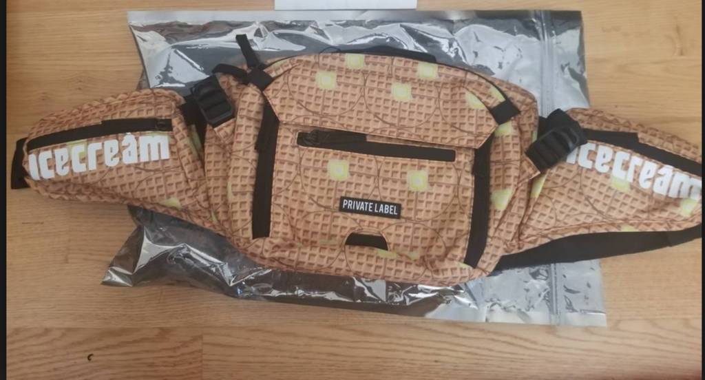 separation shoes 84ffb 14570 BBC Ice Cream x Private Label waffle Bag Complexcon