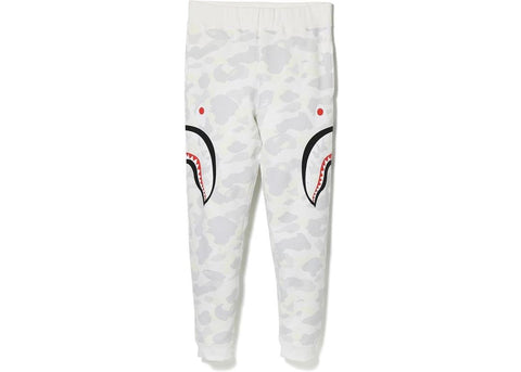 0d33bab81 CITY CAMO SIDE SHARK SLIM SWEAT PANTS White Glow in the Dark
