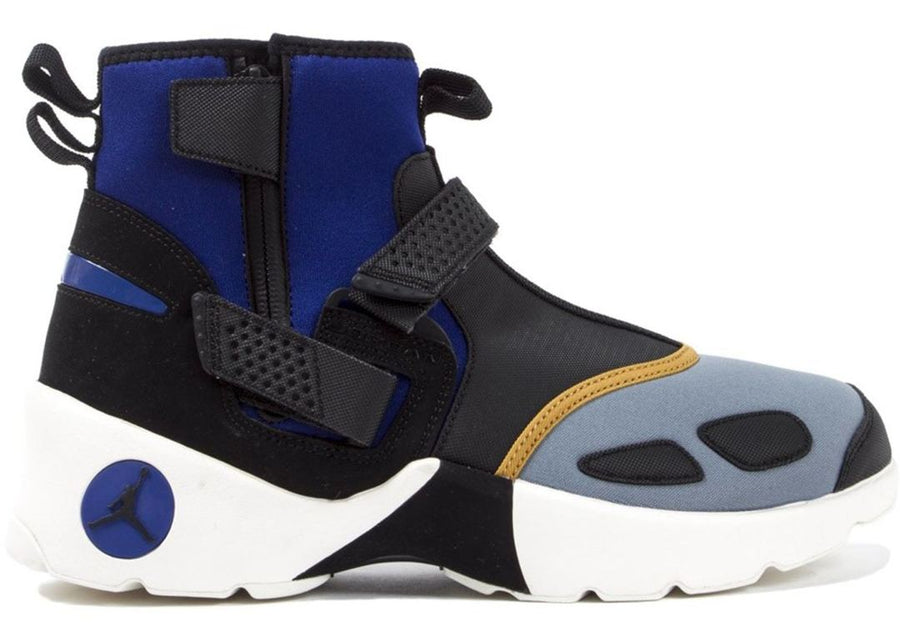 Air Jordan Trunner LX High Black Grey Blue