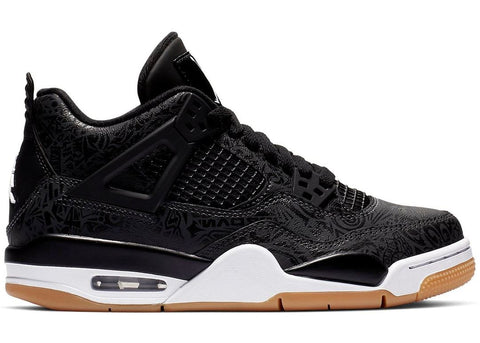 Air Jordan 4 Retro Laser Black Gum (GS)