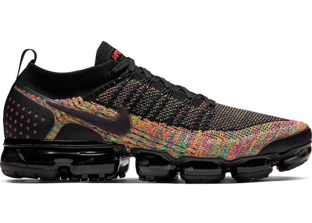 on sale 102be 5a99e Nike Air Vapormax Fly Knit 2 Black Racer Pink