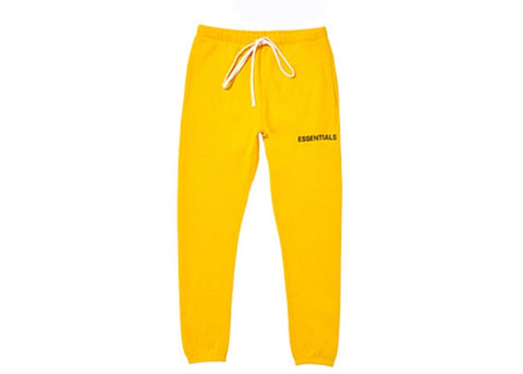 56ffdecfe FEAR OF GOD Essentials Graphic Sweatpants Yellow