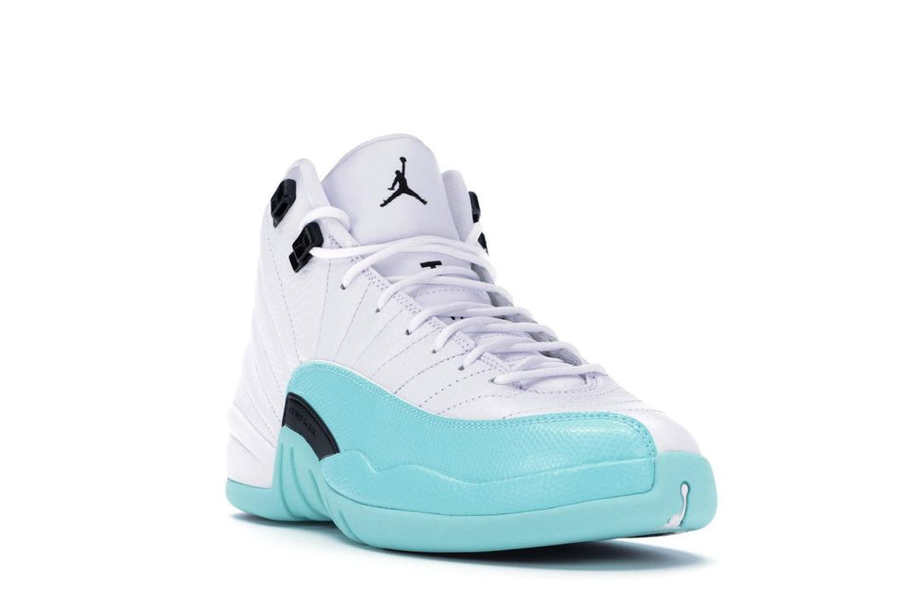 buy popular 02109 a435d Air Jordan 12 Retro Light Aqua (GS)