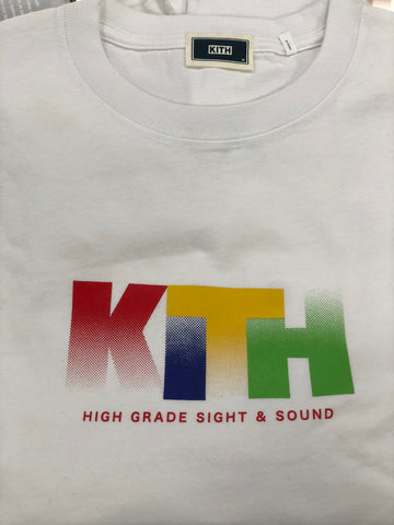 Kith Sight & Sound T-Shirt White
