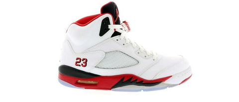 Air Jordan 5 Retro Fire Red Black Tongue (2013)
