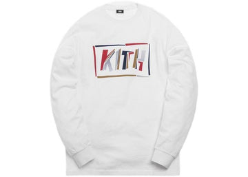 Kith Fractured L/S Tee White