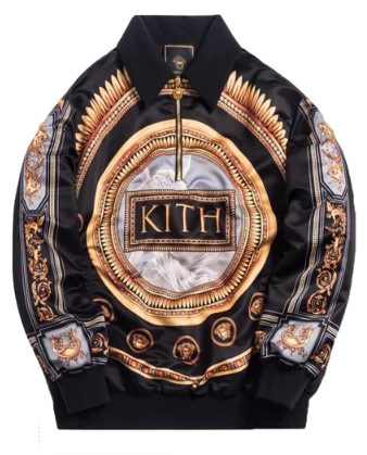 Kith x Versace Quarter Zip Pullover Greco