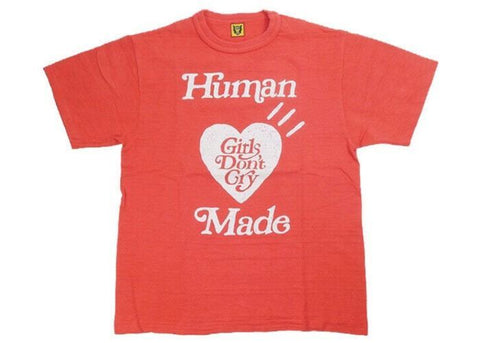 Human Made x Girls Don't Cry Tee 1 Red