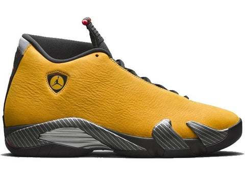 Air Jordan 14 Retro Ferrari University Gold Pre Order