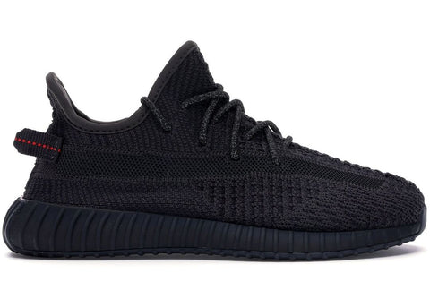 Adidas Yeezy Boost 350 V2  Black (Kids) (Non-Reflective)