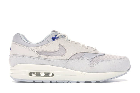 Air Max 1 Pure Platinum Racer Blue