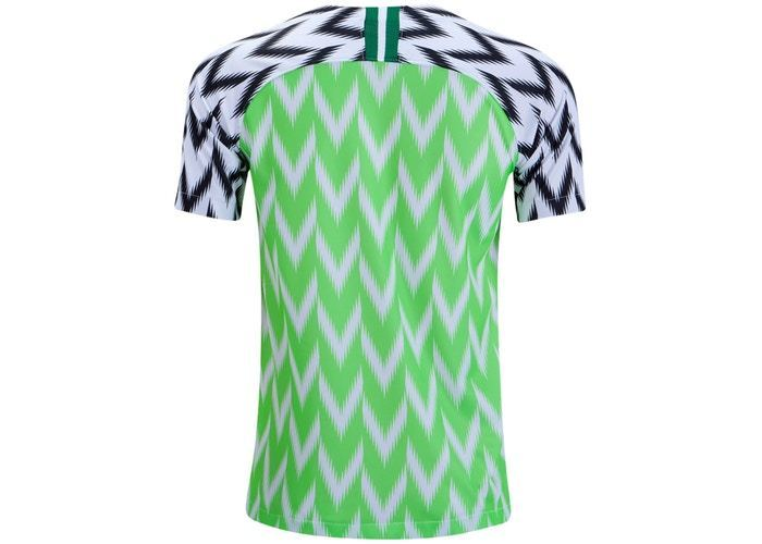 Nike Nigeria 2019 Stadium Home Jersey White/Black