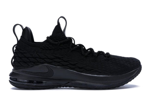 LeBron 15 Low Blackout