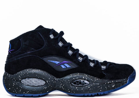"Reebok X Sneakerstuff X Packer Shoes Question Mid ""Black Token 38"" Madison Square Garden"