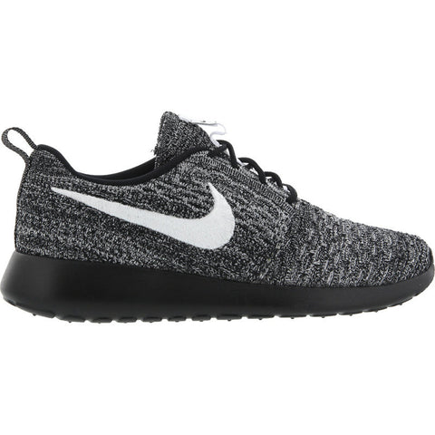 Nike Womens Roshe One Flyknit Black/White