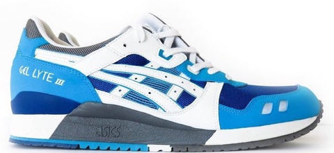 "Asics Gel Lyte 3 ""Kith Blue-White"""