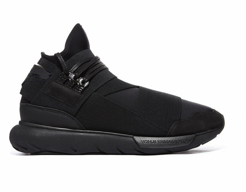 "Adidas Y-3 Qasa High ""Triple Black"""