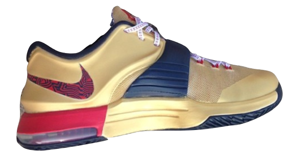 Nike KD VII USA Gold Medal Custom