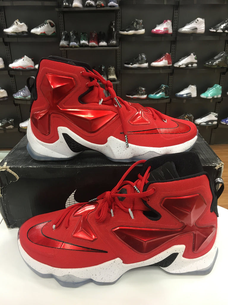 VNDS Nike LeBron XIII Red. Previous Next 120321514