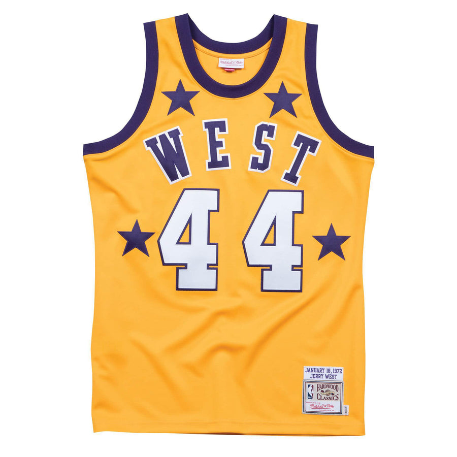 Jerry West 1972 All Star West Authentic Jersey