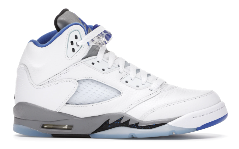 Air Jordan 5 Retro White Stealth 2021 (GS)