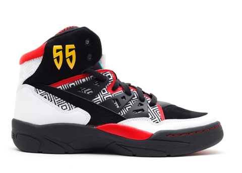 "Adidas Mutombo ""Black-Red"""