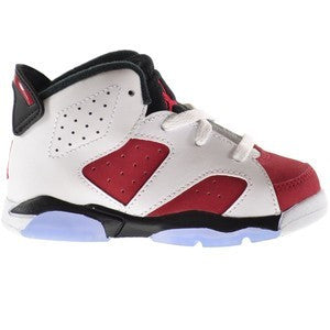 Toddler Air Jordan 6 Retro Carmine
