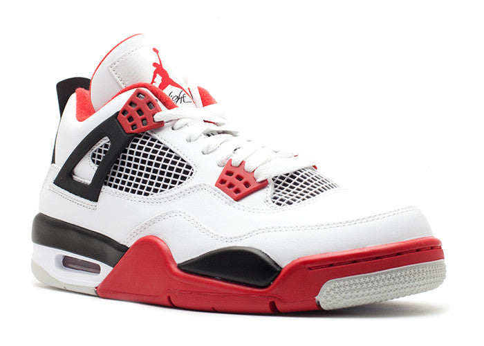 "Air Jordan 4 Retro ""Fire Red"" (2012)"