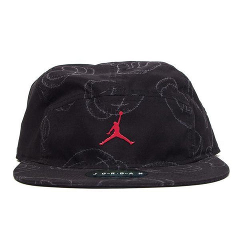 KAWS x Jordan 5-Panel Cap Black